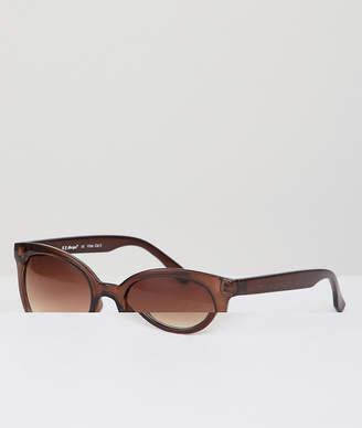 A. J. Morgan AJ Morgan Round Sunglasses In Brown