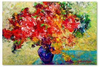 "Laurèl Trademark Global Marion Rose 'Laurel' Canvas Art - 19"" x 12"" x 2"""