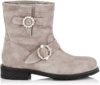 Jimmy Choo Youth Suede Boots