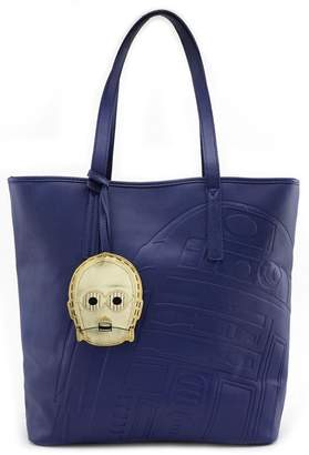 Loungefly R2d2 Embossed Tote-Bag