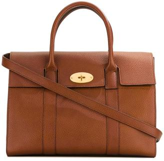 Mulberry fold-over closure tote $1,572 thestylecure.com