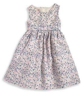 My Princess Wear Little Girl's Floral Back-Tie Dress