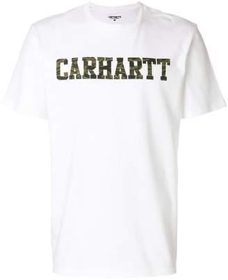 Carhartt camouflage logo print T-shirt