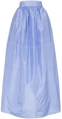Michael Lo Sordo high-waisted full maxi-skirt
