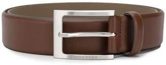 HUGO BOSS slim buckle belt