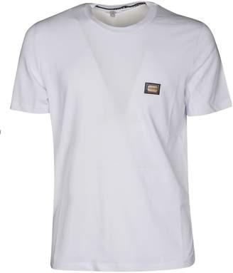 Love Moschino Logo Plaque T-shirt