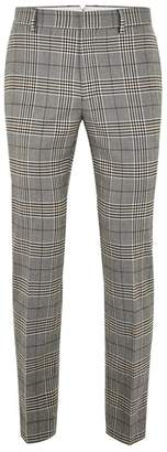 Topman Dapple Check Skinny Trousers
