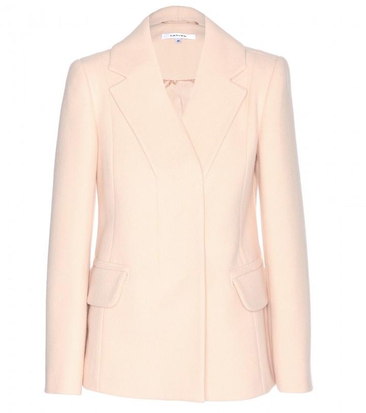 Carven Wool-blend blazer