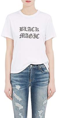 "Amiri Women's ""Black Magic"" Cotton Jersey T-Shirt"