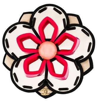 Chanel Flower Brooch