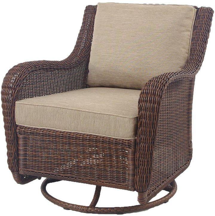 Sonoma outdoors TM presidio wicker motion chair