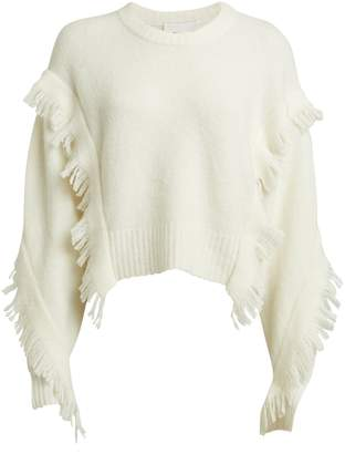 3.1 Phillip Lim Fringe Wool-Blend Sweater