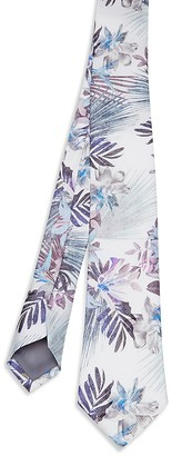 Ted Baker Floral Print Skinny Tie $109 thestylecure.com