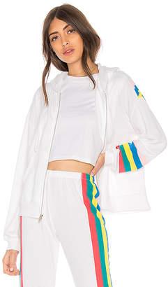 Wildfox Couture Spectrum Marquis Zip Hoodie