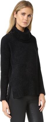 BB Dakota Warner Oversized Turtleneck Sweater $95 thestylecure.com