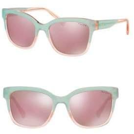 Ralph Lauren Ralph By Eyewear 55MM Square Sunglasses