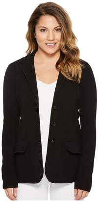 Lauren Ralph Lauren Petite Knit Sweater Blazer Women's Jacket