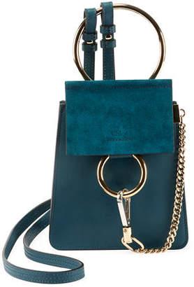 Chloé Faye Small Leather Bracelet Bag