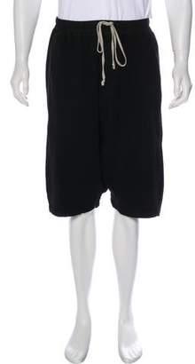Rick Owens Jersey Harem Long Shorts