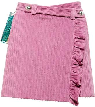 Miu Miu (ミュウミュウ) - Miu Miu ミニ ラップスカート