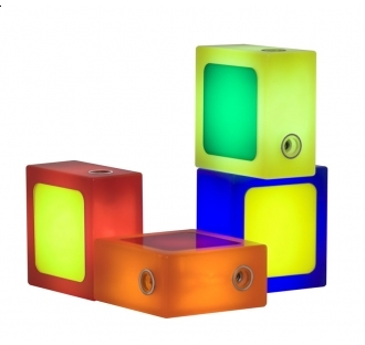 Pin It TwistTogether Company TwistTogether Lamp - Candy 4 Block Set