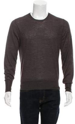 Alexander McQueen Alpaca-Blend Crew Neck Sweater
