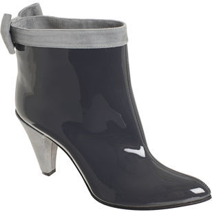 Marc by Marc Jacobs Bowtie Ankle Boot- Dark Grey