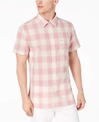 Calvin Klein Jeans Men's Guaze Checkered Shirt