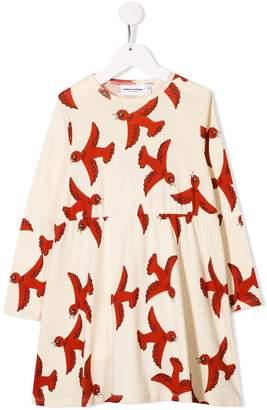 Mini Rodini a-line bird dress