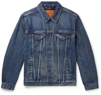Levi's Flannel-lined Denim Trucker Jacket