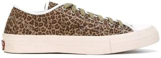 Visvim leopard print sneakers