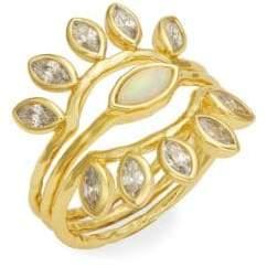 Gorjana Rumi Burst Stackable Ring Set