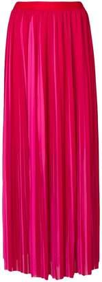 Karl Lagerfeld Paris pleated maxi skirt