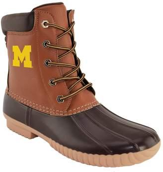 NCAA Kohl's Men's Michigan Wolverines Duck Boots