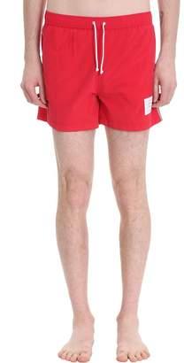 Thom Browne Polyamide Red Swimwear