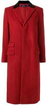 Polo Ralph Lauren velvet collar coat