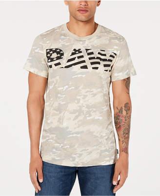 G Star Men Flag Logo Camo T-Shirt