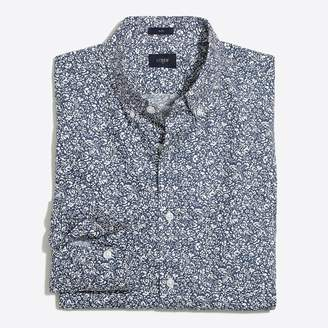 J.Crew Printed washed shirt