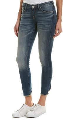 True Religion Halle Seasoned Blue Super Skinny Leg