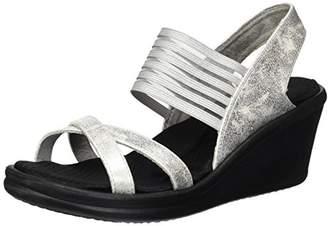 Skechers Cali Women's Rumblers-Glam Society Wedge Sandal