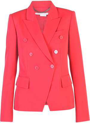 Stella McCartney Red Double Breasted Jacket
