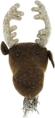 Fiona Walker Mini Moose Head Wall Art