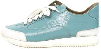 Hermes Leather trainers