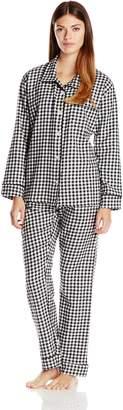 Bottoms Out Women's Plaid Pajama Set