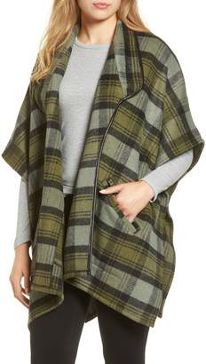 Nordstrom Plaid Wrap
