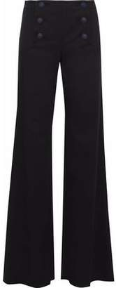 RED Valentino Lace-Up Twill Flared Pants