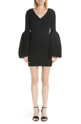Alexander Wang Puff Sleeve Sweater Dress