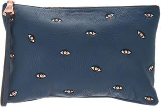 Aimee Kestenberg Pebble Leather Eye Love Pouch