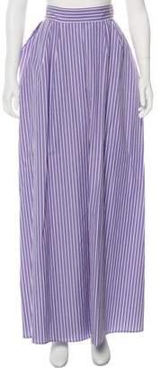Rochas Striped Maxi Skirt