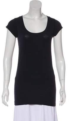 Theory Scoop Neck Short Sleeve T-Shirt